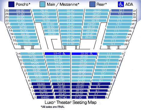 Tickets - Seating