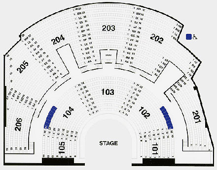 Mystere Map / Seating